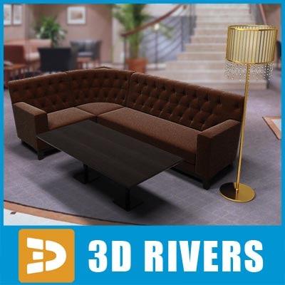 3ds max furniture set