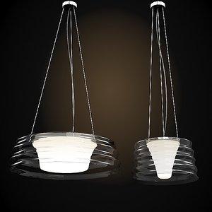 penta modern glass 3d 3ds