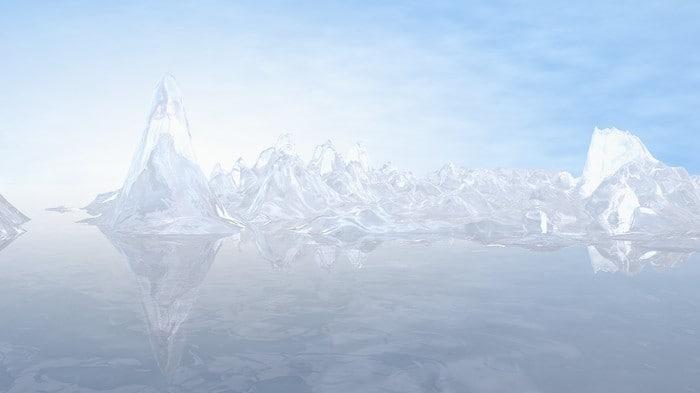 3d max ice iceberg