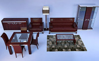 furniture florence collections 3d model