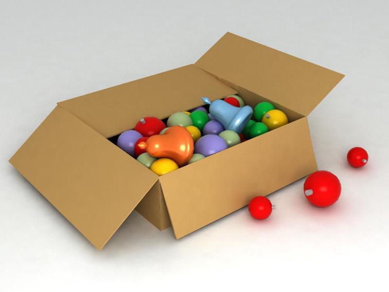 3d christmas toys