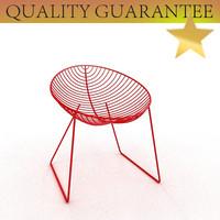3d leaf lounge chair arper