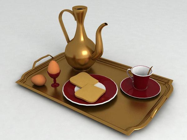 Free Breakfast Food 3D Models for Download | TurboSquid