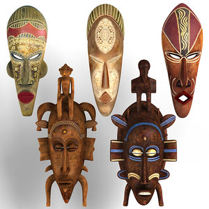 african masks max