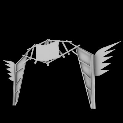 scrap metal arch town 3ds