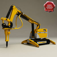 3ds max brokk remote controlled demolition