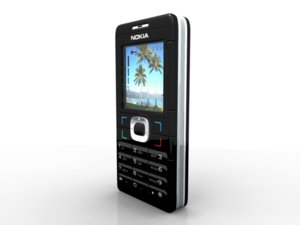 3d brick cell phone nokia