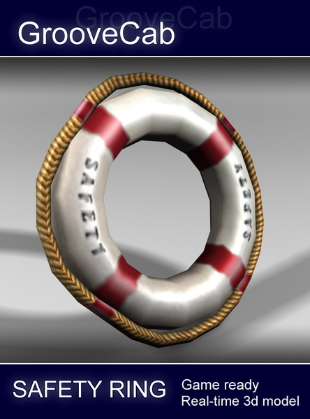 3d pool safety ring model