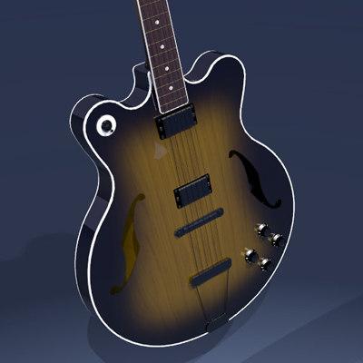 rock guitar 3ds