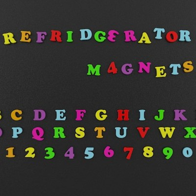 refridgerator magnets 3ds