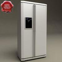 refrigerator samsung v2 3d obj