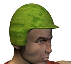 free 3ds mode helmet usmc