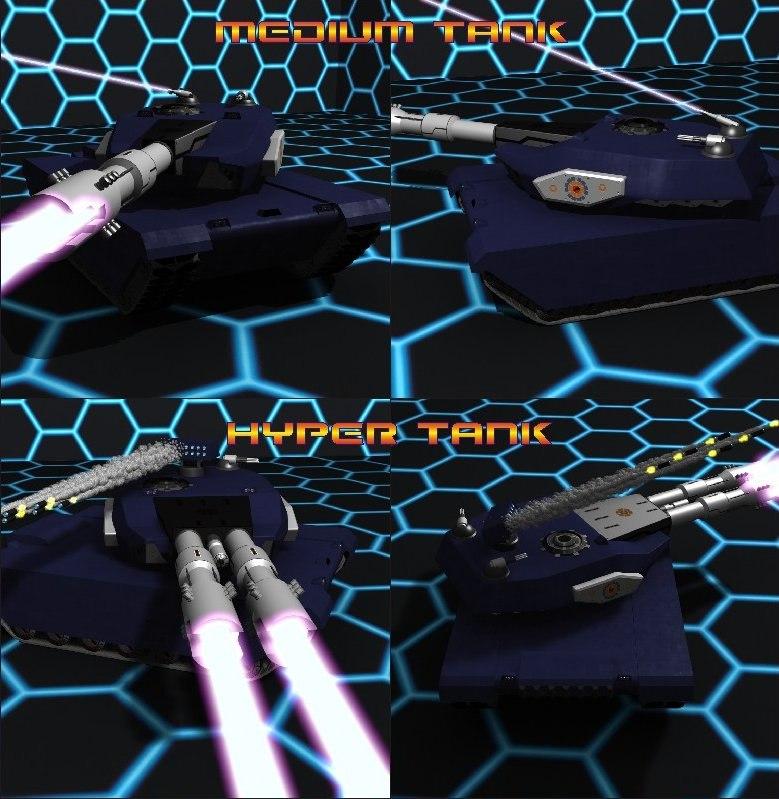 scifi pack tank 17 3d model