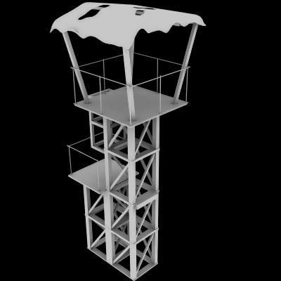 scrap guard tower town 3d 3ds