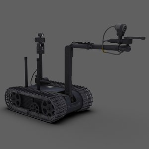 foster-miller talon eod 3d model