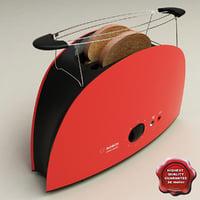 toaster bosch 3d model