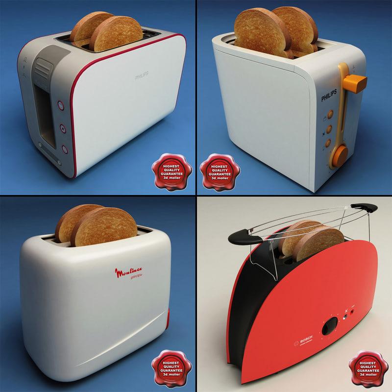 3ds max toasters set interior