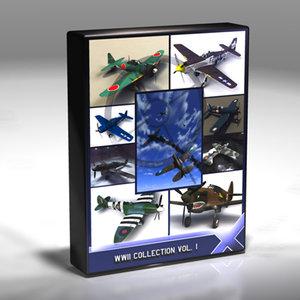 world war ii 3d model