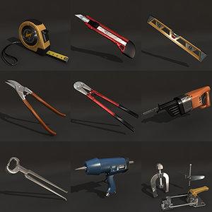 3d model pack tools