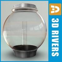 fish bowl 3d model