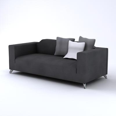Baroque Two Seater Italian Sofa
