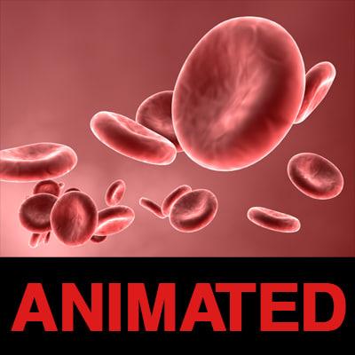 blood cells c4d