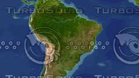 brazil maps 3d model