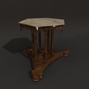 obj gothic table