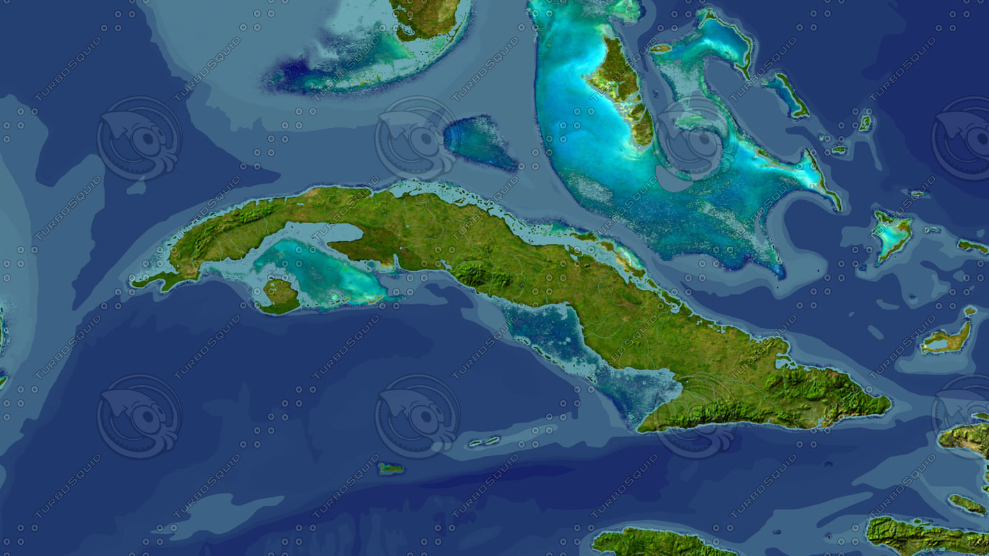 maya cuba maps