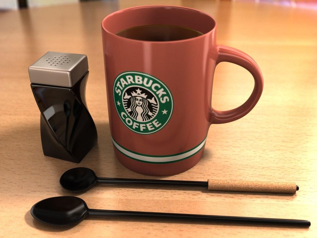 3d model coffee mug