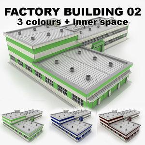 3d factory building 02