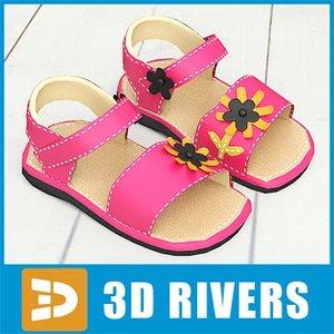 3d 3ds kids shoes