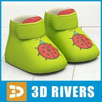 kids shoes 3d model