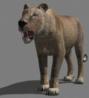 AWESOME Low-poly lioness