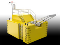 3d model mooring buoy
