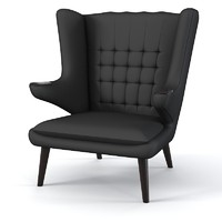3ds max chair armchair modern