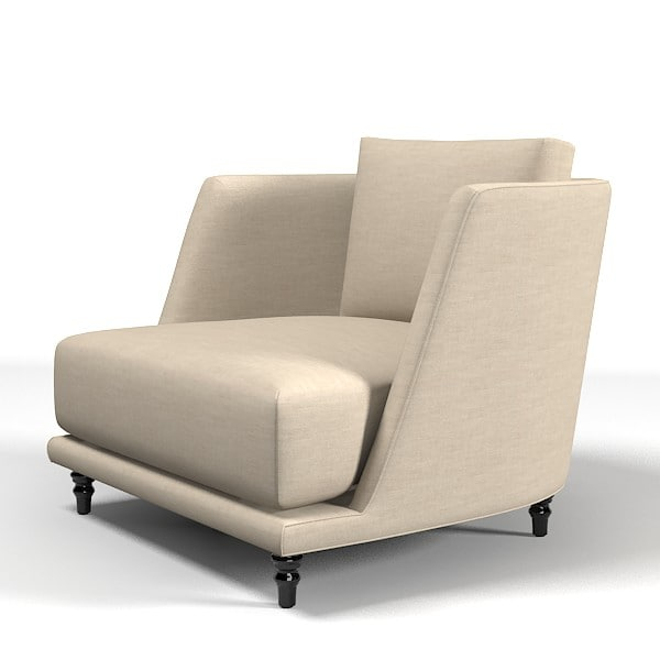 nube remind armchair 3d model