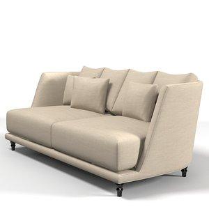 3d model nube sofa modern