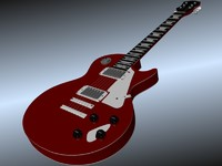 blender guitar les paul