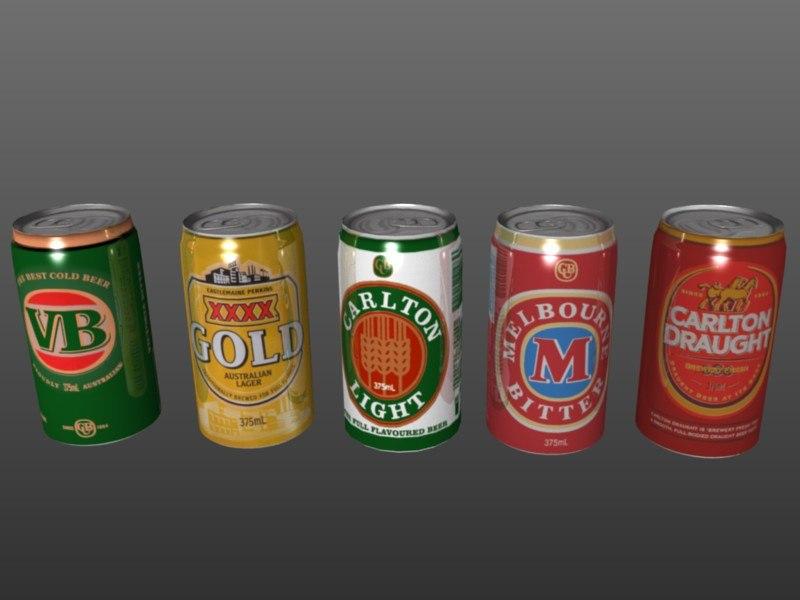 3d aussie classic beer