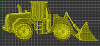3dm wheel loader