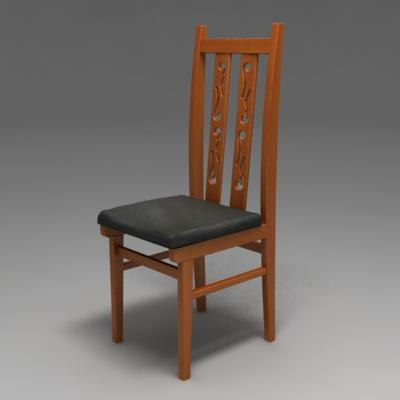 chair rendered 3ds