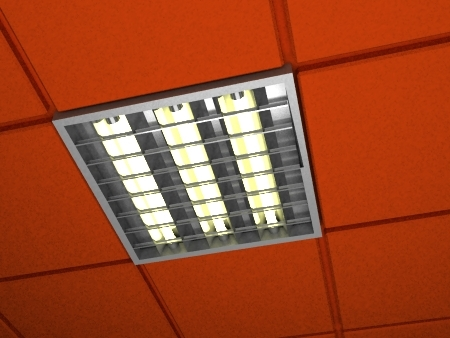 free lamp lights 3d model