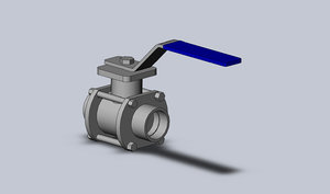 3d 1 inch pipe ball valve