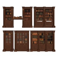 francesco molon - bookcase 3d model