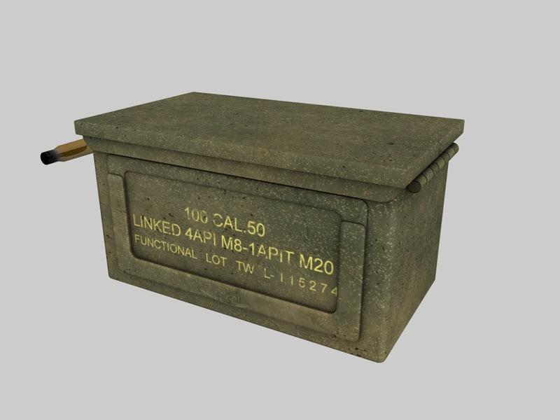 3d model caixa 50mm