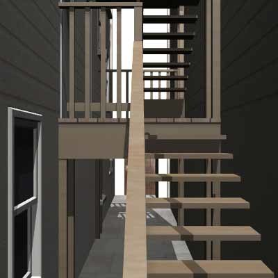3ds max building stairs