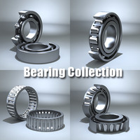 bearings ball roller 3d model