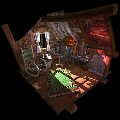 lovely living room 3d model | 3d model living room fantasy