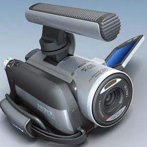 camcorder sony dcr-sr100e 3d model
